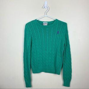 Disney Vintage Cable Knit Mickey Mouse sweater